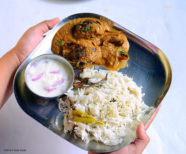Brinji Rice Recipe-Sunday Lunch Recipes-9