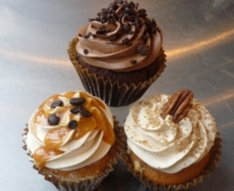 "SUPERFANTASTISKE ""Caffe Latte Cupcakes"""