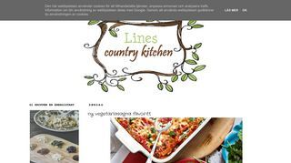 Lines country kitchen