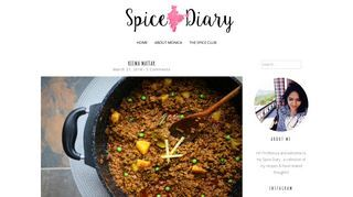 Monica's Spice Diary-Indian Food Blog