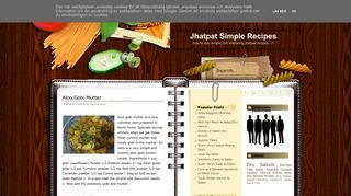 Jhatpat Simple Recipes by Apurva