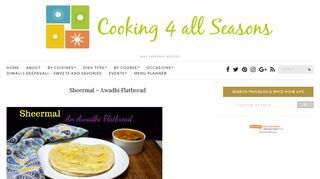Cooking 4 all Seasons