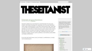 The Seitanist