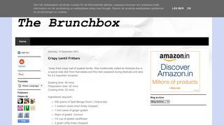 The brunchbox