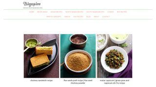 Explore our blog for international and indian food and recipes