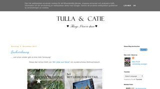 Tulla and Catie  - Things I love to share