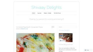 Shivaay Delights | Sharing my passion for cooking and baking ♡