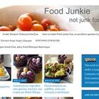 Food Junkie not junk food