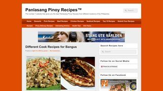 Panlasang Pinoy Recipes - Collection of best Filipino Recipes
