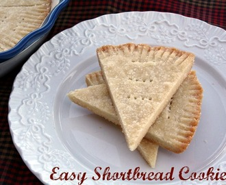 Easy Shortbread Cookies { Frigidaire's Symmetry Oven Convection Feature}