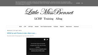 Little Miss Bennet