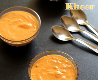 Carrot Kheer Recipe