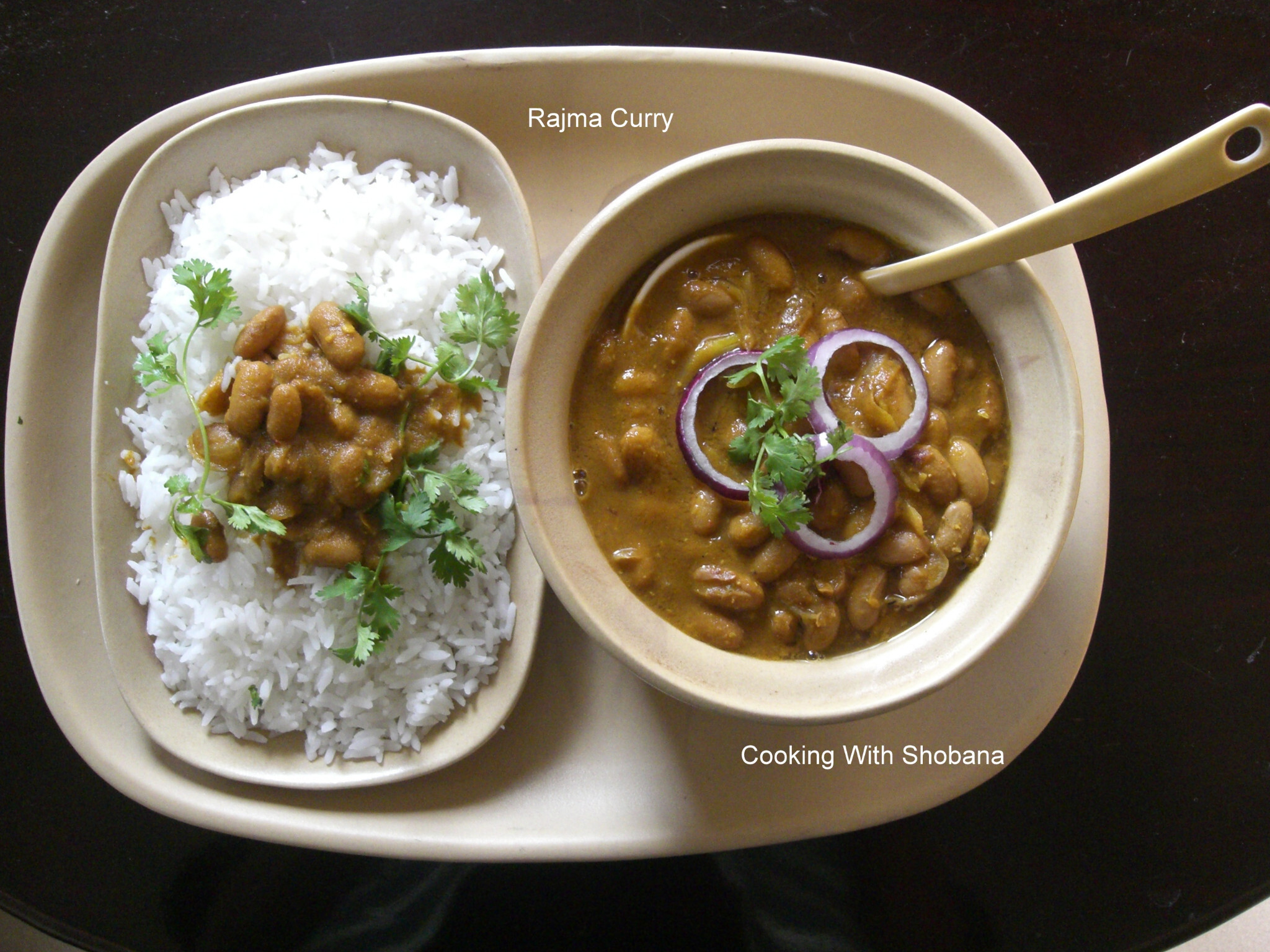 RAJMA (RED KIDNEY BEANS) CURRY