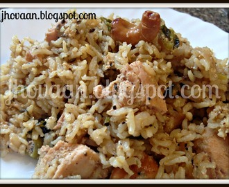 Recipe : Malabar Inspired Chicken Pilaf / Pulao
