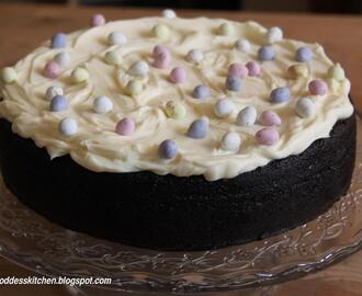 Easter Chocolate Guinness Cake