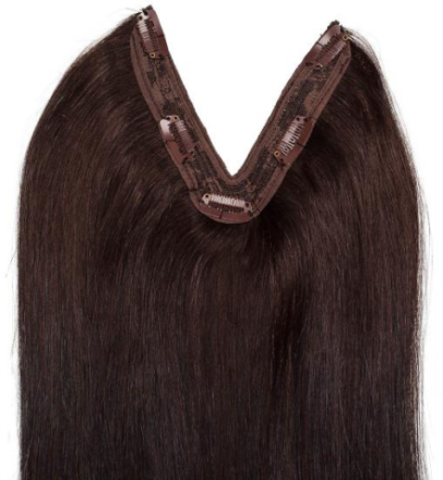 Rapunzel Easy Clip-in Original #2 Chocolate Brown 50 cm