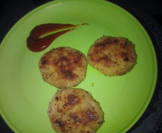 Tawa Fried Vegetable Cutlet