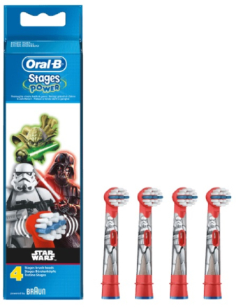 Oral-B Power refillborsthuvuden med temat Star Wars 4