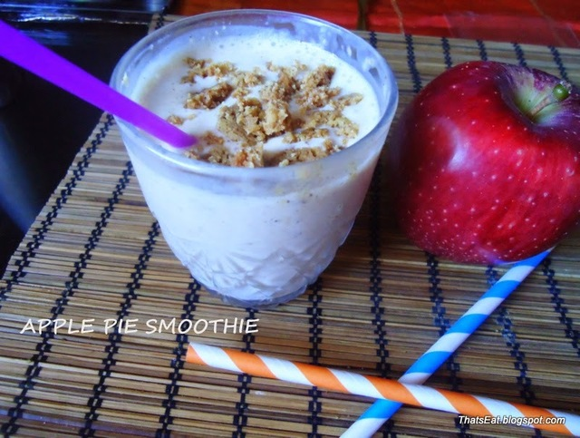 SMOOTHIE ΜΗΛΟΠΙΤΑ (APPLE PIE SMOOTHIE)