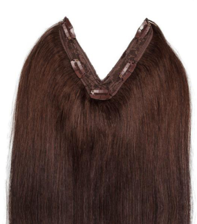 Rapunzel Easy Clip-in Original #3 Coffee Brown 50 cm