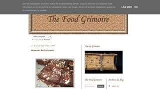 The Food Grimoire