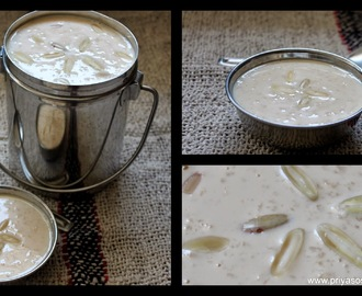 Condensed Milk Paal Payasam / Rice pudding with Condensed Milk