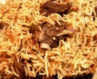 Degi Mutton Pulao (Mutton Rice)