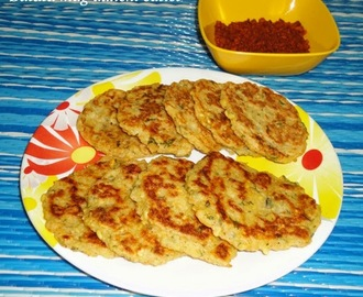 Batata mugdalichi cutlet / patties