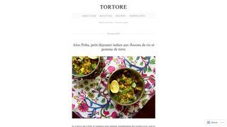 Tortore | Recettes favorites – Favorite recipes