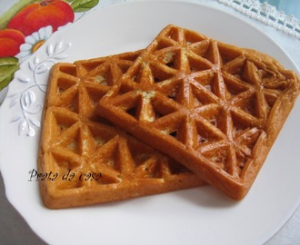 Waffles de aveia light