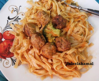 How to make Meat Ball Fettuccine