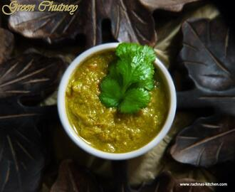 Green Chutney Recipe – How To Make Indian Hot Spicy Dip