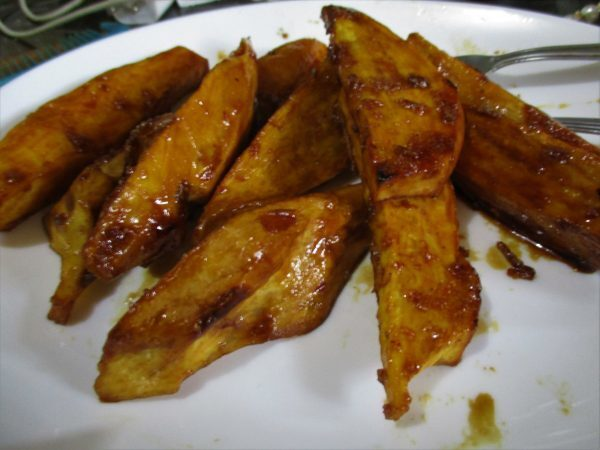 Camote Cue (Caramelised Sweet Potato)