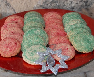 Amerikanske Christmas sugar cookies