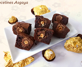 Brownie de Ferrero Rocher