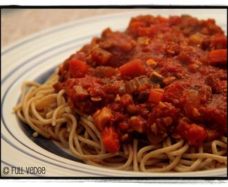 Recettes de sauce spaghetti v g tarienne au tofu mytaste - Comment cuisiner les germes de soja frais ...