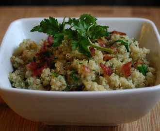 Bacon and Herb Quinoa