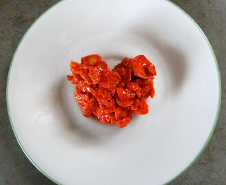 Cornflake Cookie Hearts