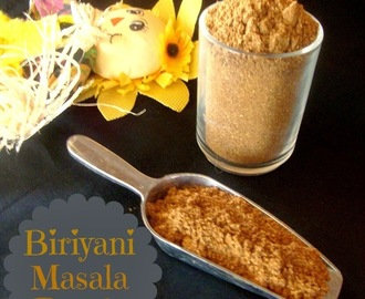 Biryani Masala Powder Recipe / Pulao Masala Powder / Biriyani Masala Powder - Homemade Biriyani Masala Powder