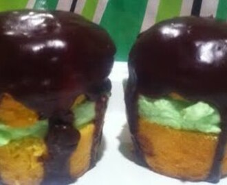 St. Patrick's Day Cream Pie Cupcakes