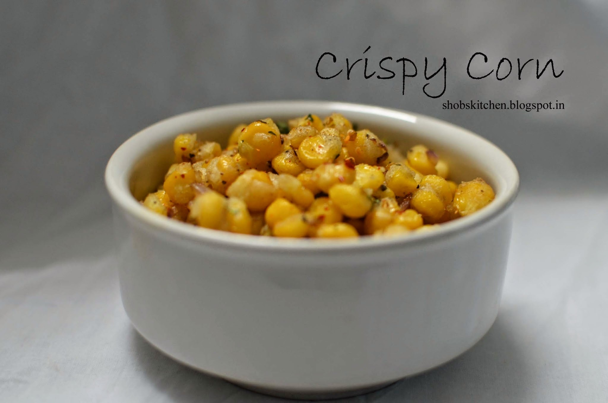 Spiced Crispy Corn