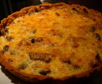 Quiche light de atum