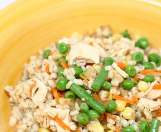 Chicken and Barley Stew
