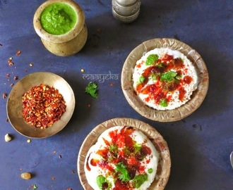 Stuffed Bread Dahi Vada - Instant and No Cook