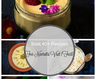 Navratri Recipes | 40 + Navratri Vrat Recipes