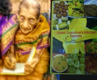 Book Launch of a Cook Book : Great Grandma's Kitchen Secrets