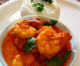 Spicy Prawn Curry (Chingrir Jhal)