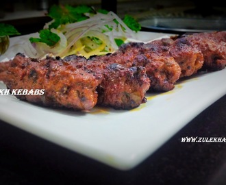 Recipe of Mutton seekh kebabs