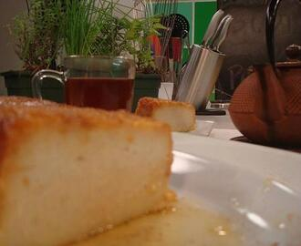 Budin de pan light facil y rapido