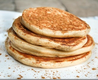 chia seed greek yogurt pancakes